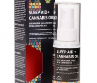 SLEEP AID melatoniini sprei kanepiõliga, 30ml
